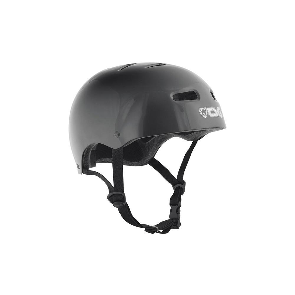 TSG Skate/Bmx Injected Black Helmet
