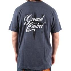 GROUND CONTROL T-shirt Star Heather Navy