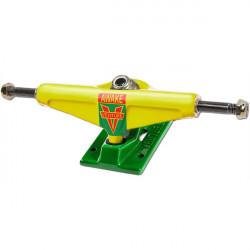"""VENTURE Yellow/Green 5.25"""" Low Truck"""