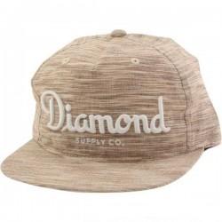 DIAMOND Champagne Brown Snapback