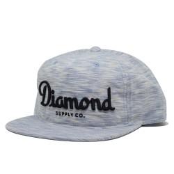 DIAMOND Champagne Blue Snapback