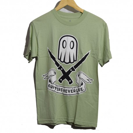 FRANCO SHADE Quitters Never Lose Green Tee