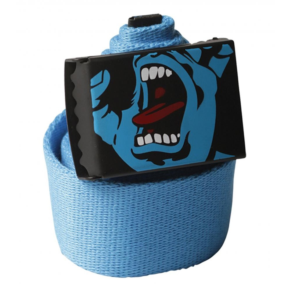 SANTA CRUZ Screaming Hand Blue Belt