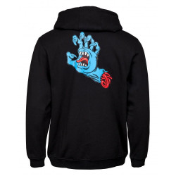 SANTA CRUZ Zip Hood Phillips Hand Black