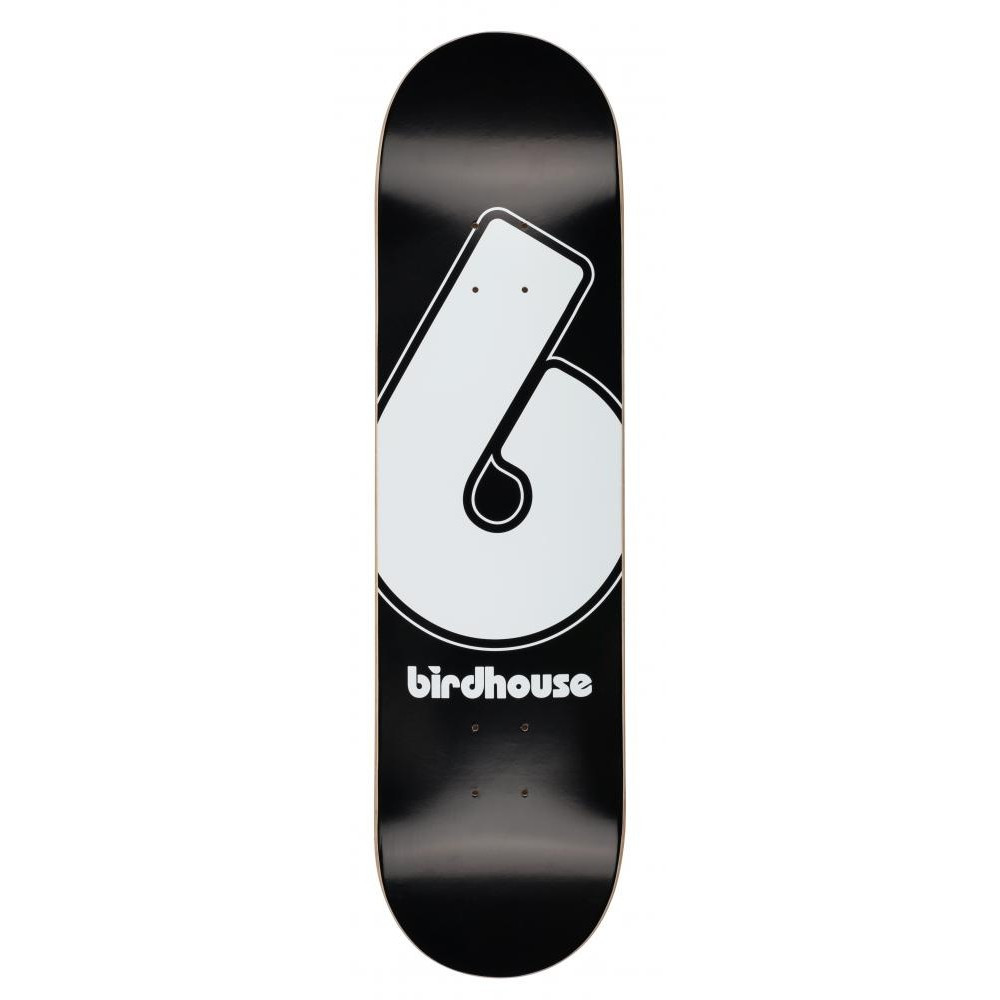 "BIRDHOUSE Giant B Logo Black 8.25"" Deck"