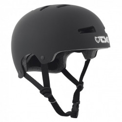 Casque TSG Evolution Solid Black Satin