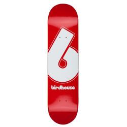 "BIRDHOUSE Giant B Logo Red 8"" Deck"