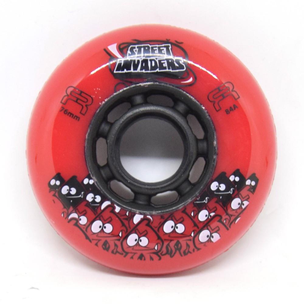 SEBA Street Invaders Red Wheel 76mm x1
