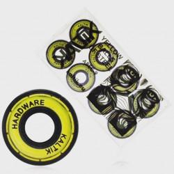 KALTIK ABEC9 Yellow Steel Balls Bearings x8