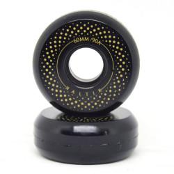 Roues KALTIK Black Spinners x4