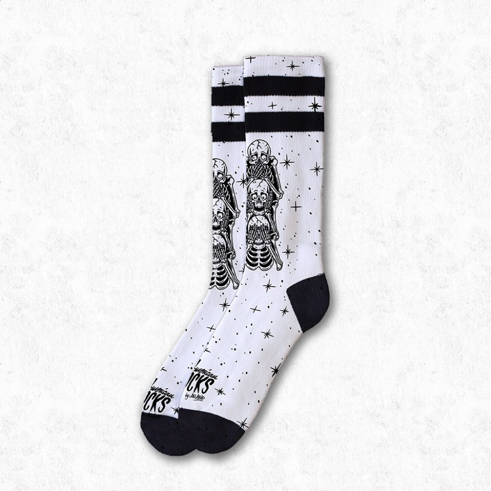AMERICAN SOCKS Signature Wisemonkeys