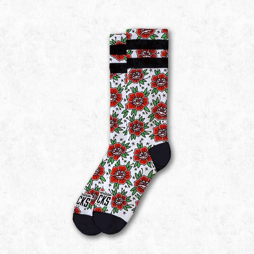 Chaussettes AMERICAN SOCKS Signature Socks n Roses