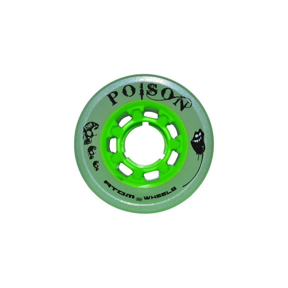 Roues ATOM Wheels POISON Wide 62mm x4