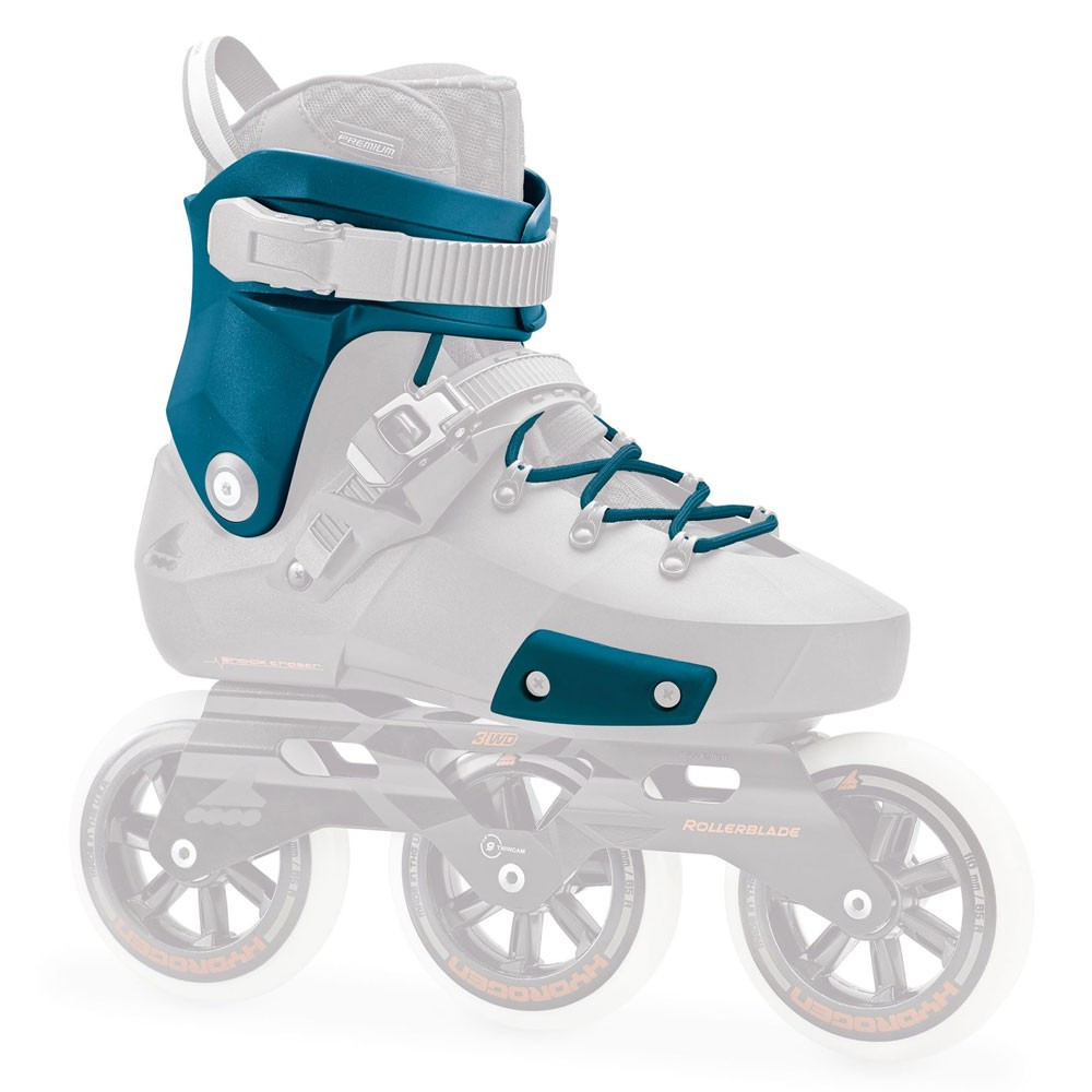 ROLLERBLADE Twister Edge Custom Kit Petrol Blue