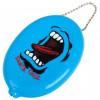 SANTA CRUZ Screaming Coin Pouch Blue