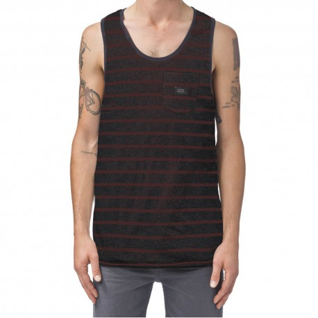 GLOBE Moonshine Pocket Singlet Brick Slub