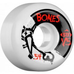 Roues BONES STF V5 Side Cut 54mm x4
