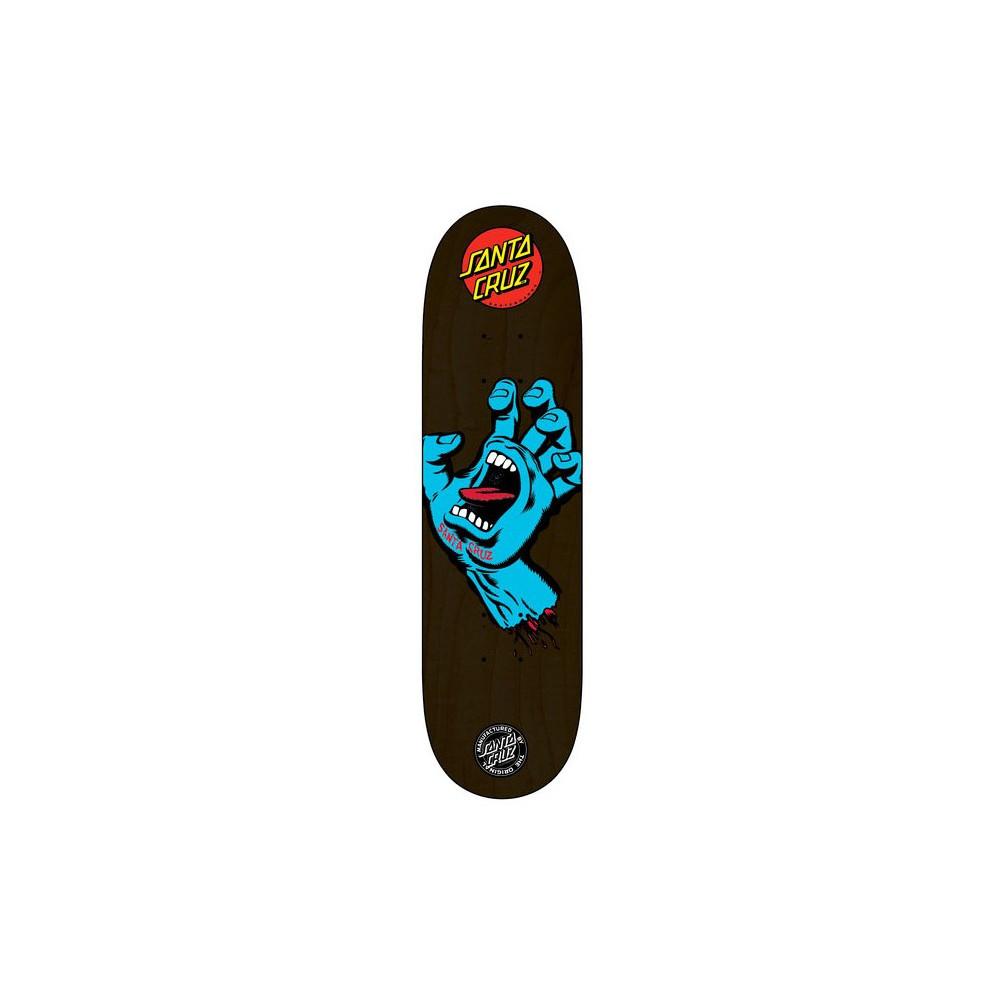 "SANTA CRUZ Screaming Hand Blue Deck 8.125"""