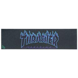THRASHER X MOB Flame Blue Griptape