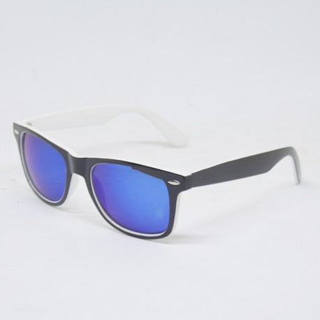 BRIGHT Black/White Sunglasses