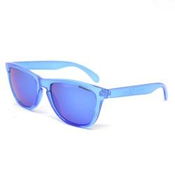 BRIGHT Clear Blue Sunglasses