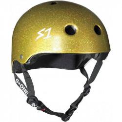 S1 Lifer V2 Glitter Gold Helmet