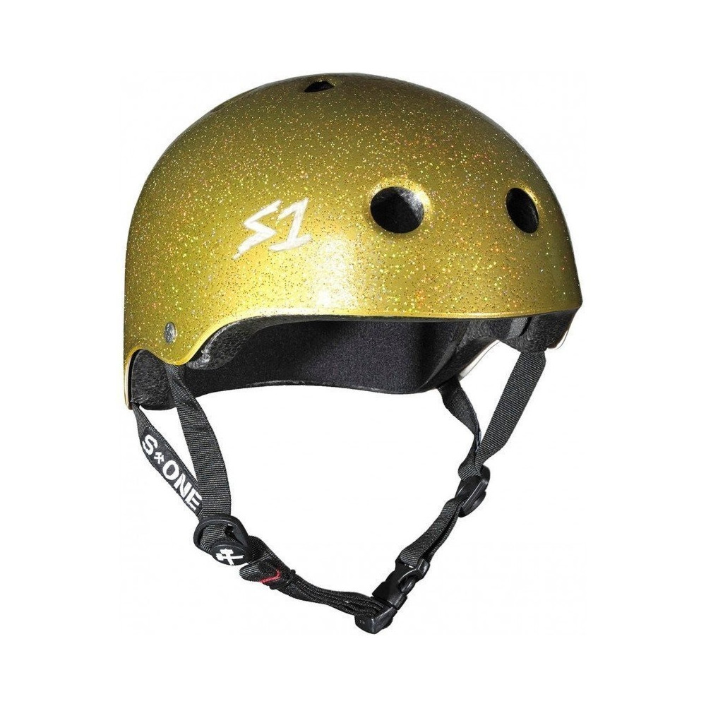 S1 Lifer V2 Glitter Gold Helmet