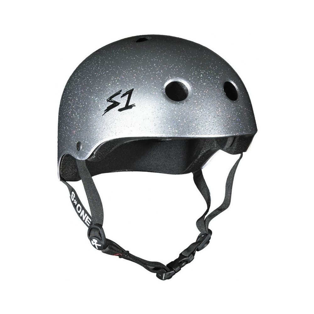 Casque S1 Lifer V2 Glitter Silver Helmet