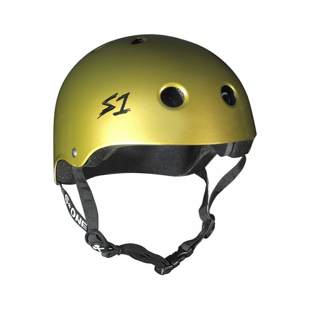 Casque S1 Lifer V2 Gold Helmet