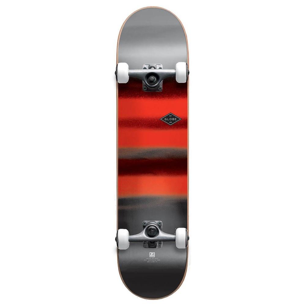 "GLOBE G1 Full One Charcoal/Chromantic 8"" Complete Skateboard"