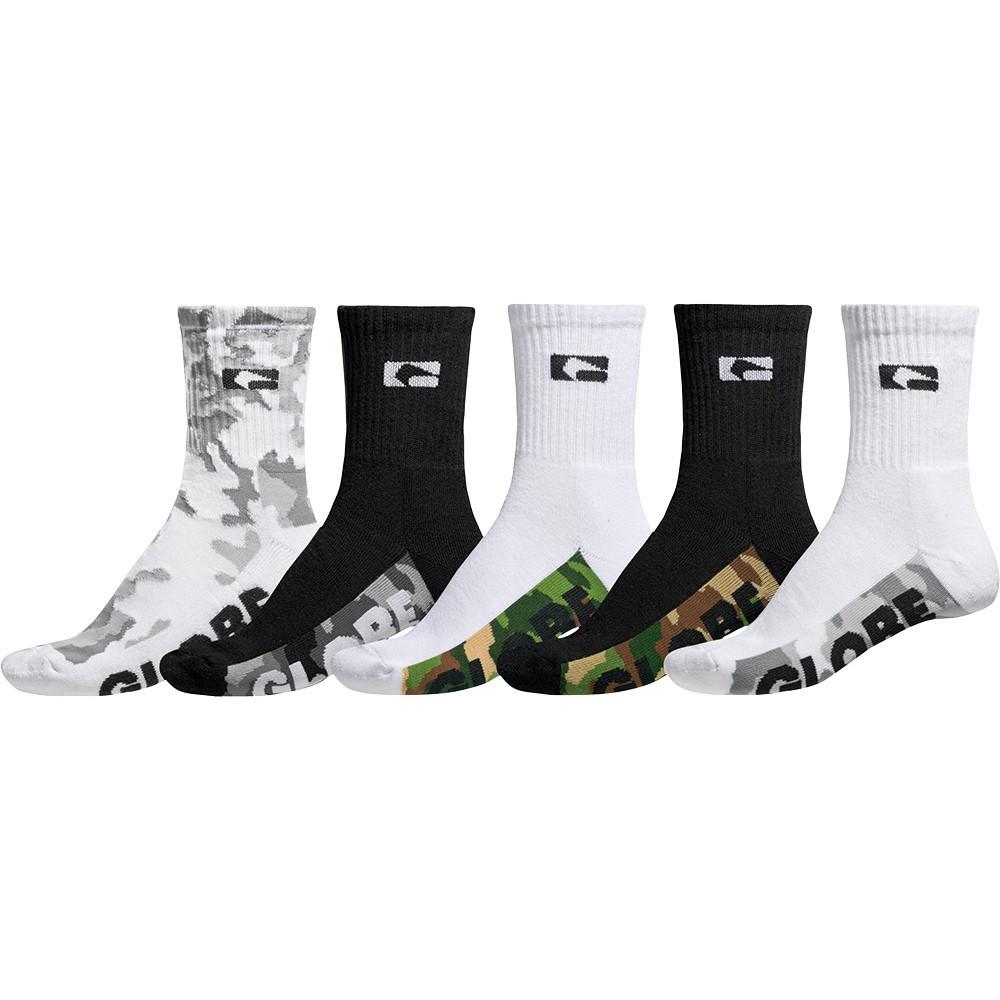 GLOBE Malcom Crew Camo x5 Socks