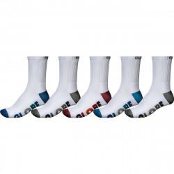 GLOBE Multi Stripe Crew x5 Socks
