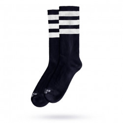 AMERICAN SOCKS Mid High Black in Black 2