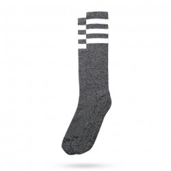 AMERICAN SOCKS Knee High White Noise