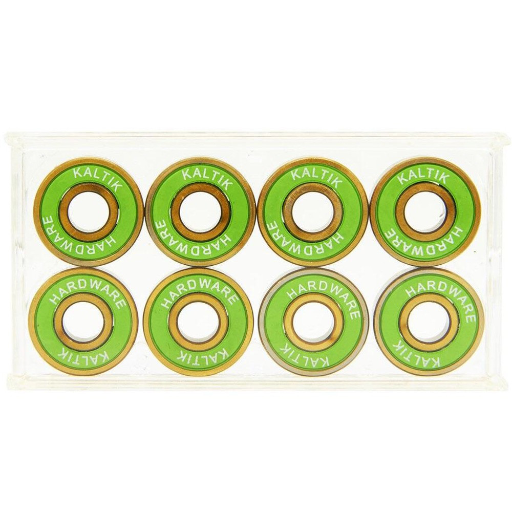 KALTIK ABEC9 Yellow Steel Balls Bearings x8