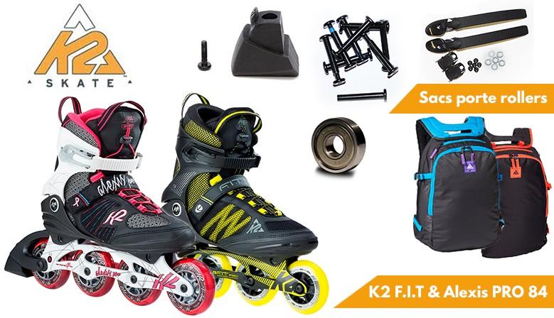 Roller K2 2017 disponibles chez clic-n-roll le spécialiste du roller