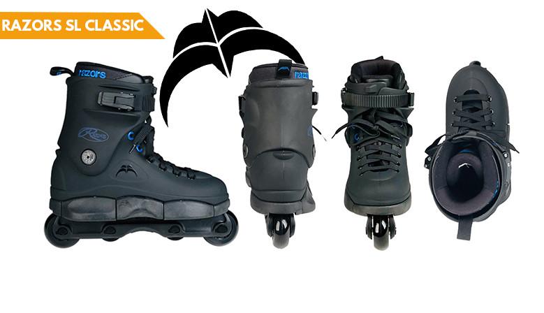commandez dès maintenant votre paire de rollers RAZORS SL CLASSIC chez clicnroll, magasin de roller à Nîmes
