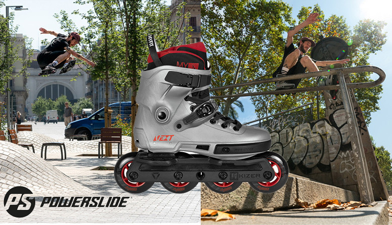 POWERSLIDE Next Burgundy skates available from clicnroll rollershop in France, shipping worldwild