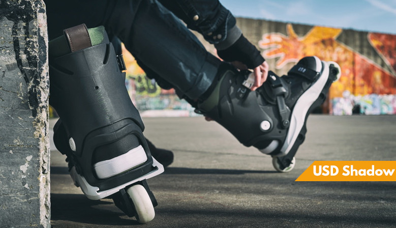 USD Shadow 2019 inline skates available at clic-n-roll rollershop, the french specialiste urban sports