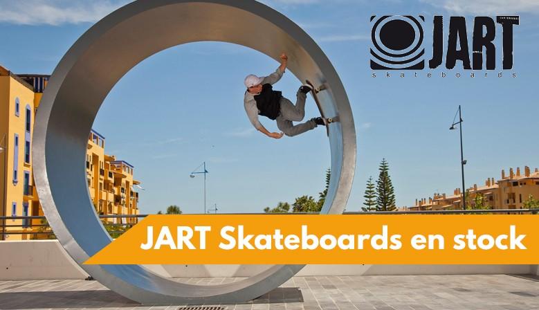 JART Skateboards disponibles au skateshop de nimes clic-n-roll, le magasin spécialiste du skate à Nîmes
