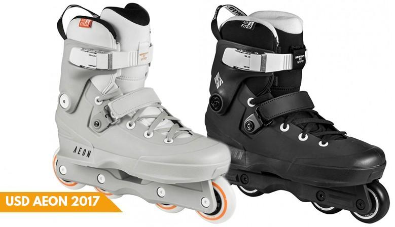 USD Aeon 2017 aggressive skates available at clic-n-roll.com