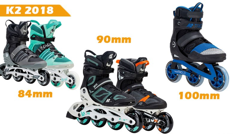 K2 2018 new line inline skates available at clic-n-roll rollershop in France
