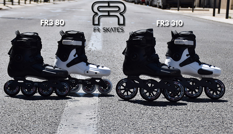 Rollers en ligne FR Skates disponibles au magasin de roller clicnroll à Nîmes, France