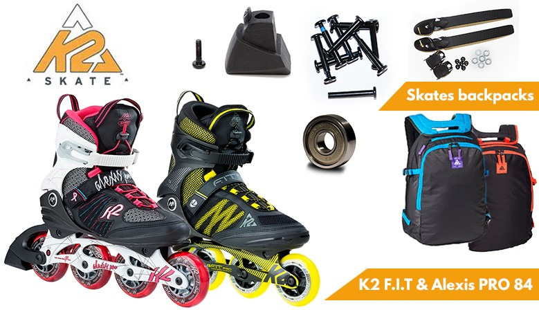 2017's K2 skates collection available at clic-n-roll.com