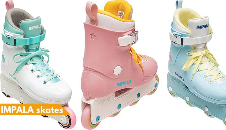commandez dès maintenant votre paire de rollers IMPALA Skates chez clicnroll, magasin de roller à Nîmes