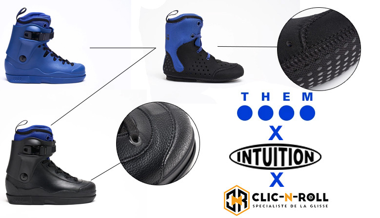 Réservez dès maintenant votre paire de THEM Skates (sortie en Octobre) chez clicnroll, magasin de roller à Nîmes