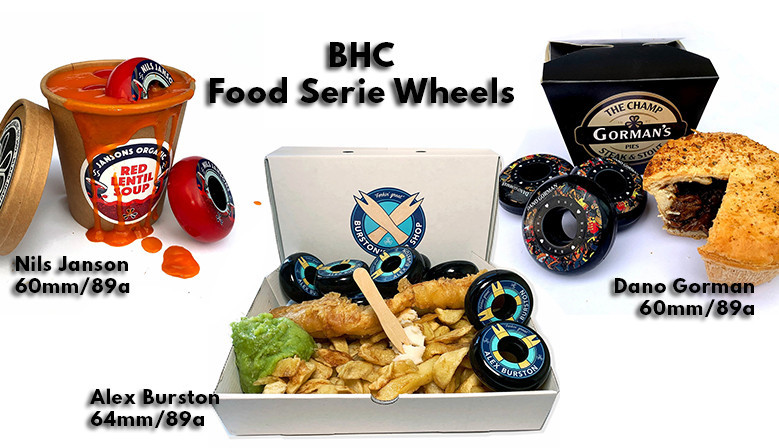 BHC wheels available from clicnroll inline skates shop in France