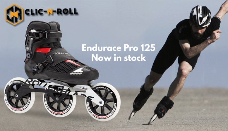 Rollerblade Endurace pro 125 skates are available online at www.clic-n-roll.com