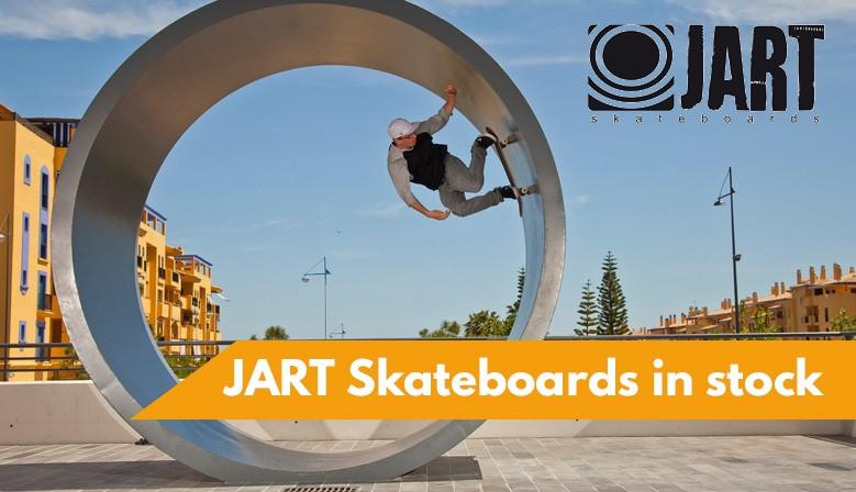 JART Skateboards available at clic-n-roll skateshop