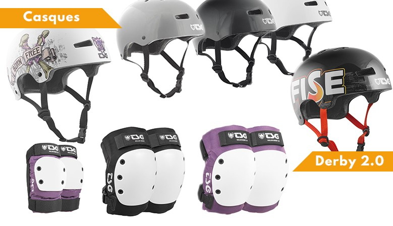 Collection 2017 de protections TSG disponible au magasin de sports de glisse clic-n-roll